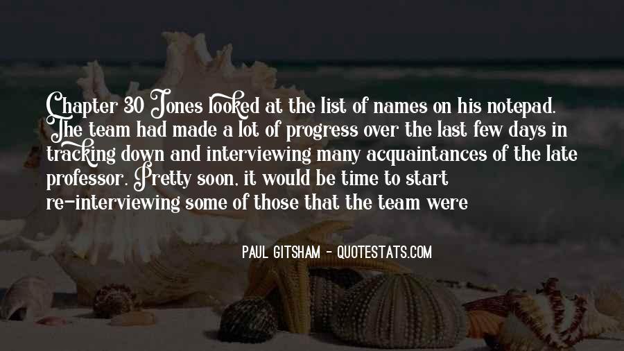Paul Gitsham Quotes #616025