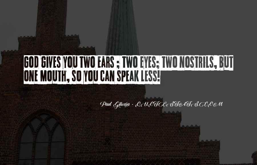 Paul Gitwaza Quotes #1171746