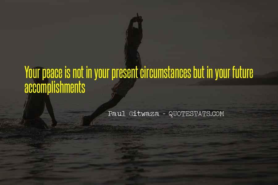 Paul Gitwaza Quotes #1477183