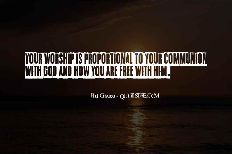 Paul Gitwaza Quotes #1672536