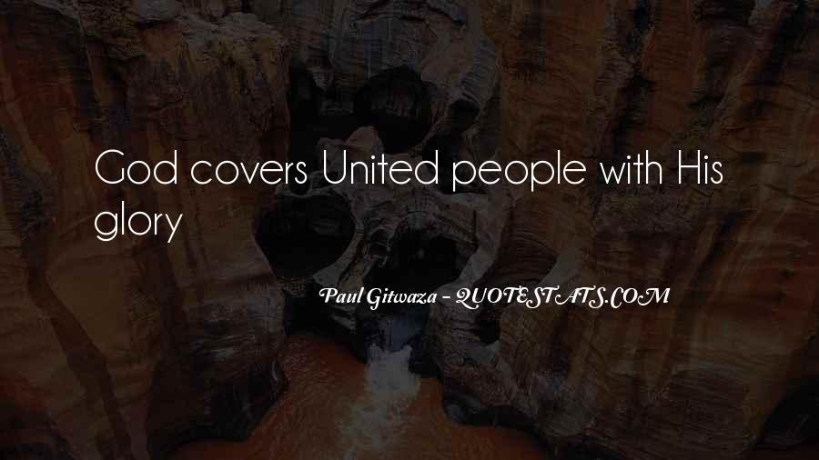 Paul Gitwaza Quotes #1718194