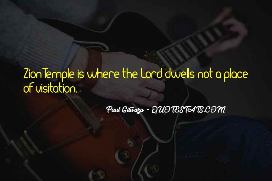 Paul Gitwaza Quotes #1723013