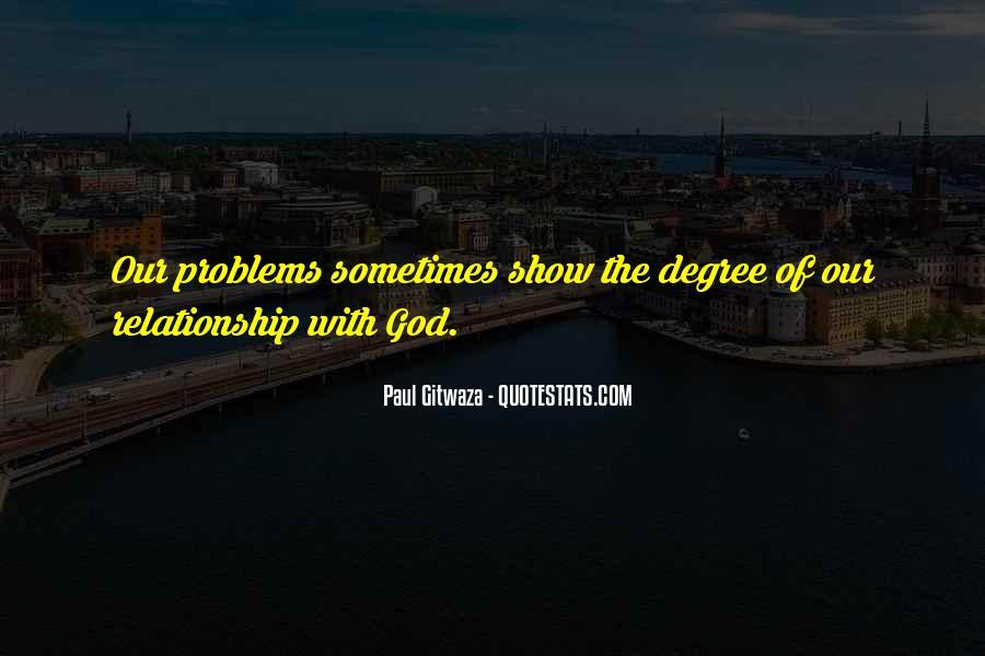 Paul Gitwaza Quotes #213397
