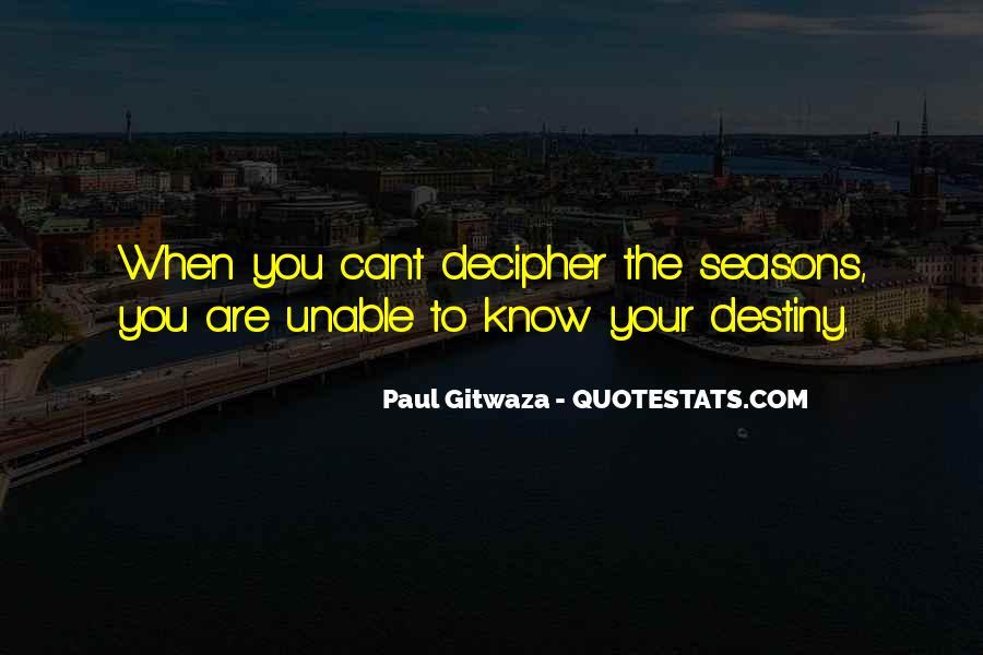 Paul Gitwaza Quotes #337033