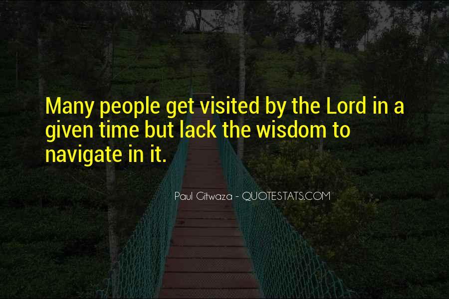 Paul Gitwaza Quotes #474441