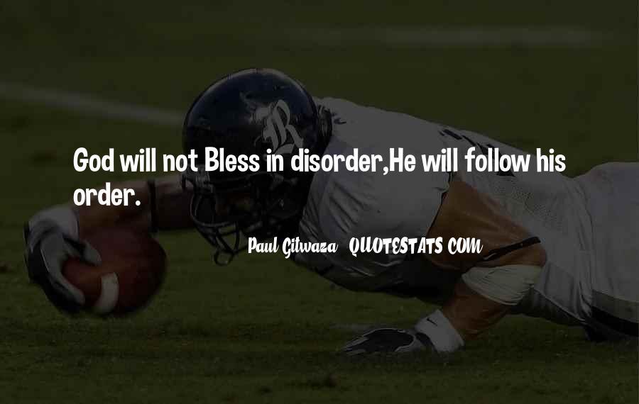 Paul Gitwaza Quotes #646874