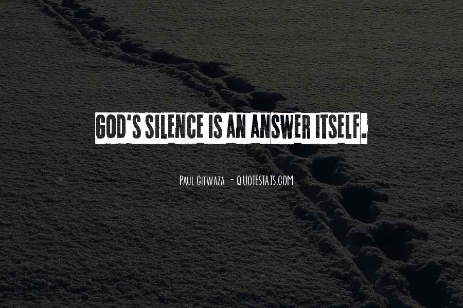 Paul Gitwaza Quotes #760524