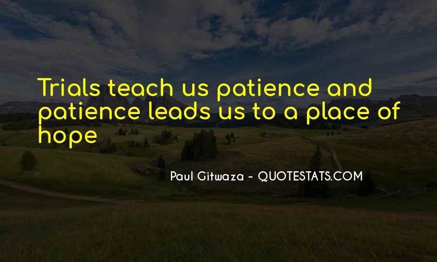 Paul Gitwaza Quotes #824753