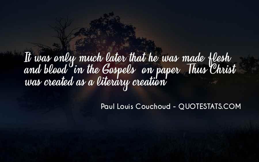 Paul Louis Couchoud Quotes #27695