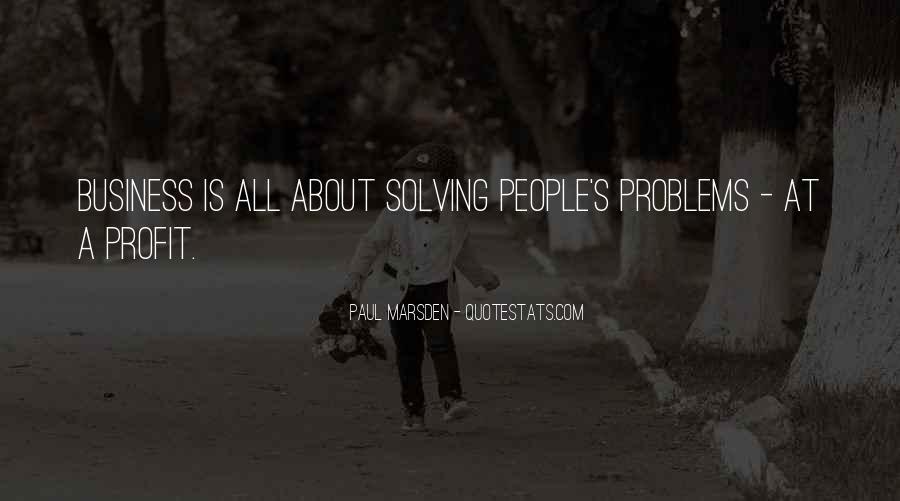 Paul Marsden Quotes #224126