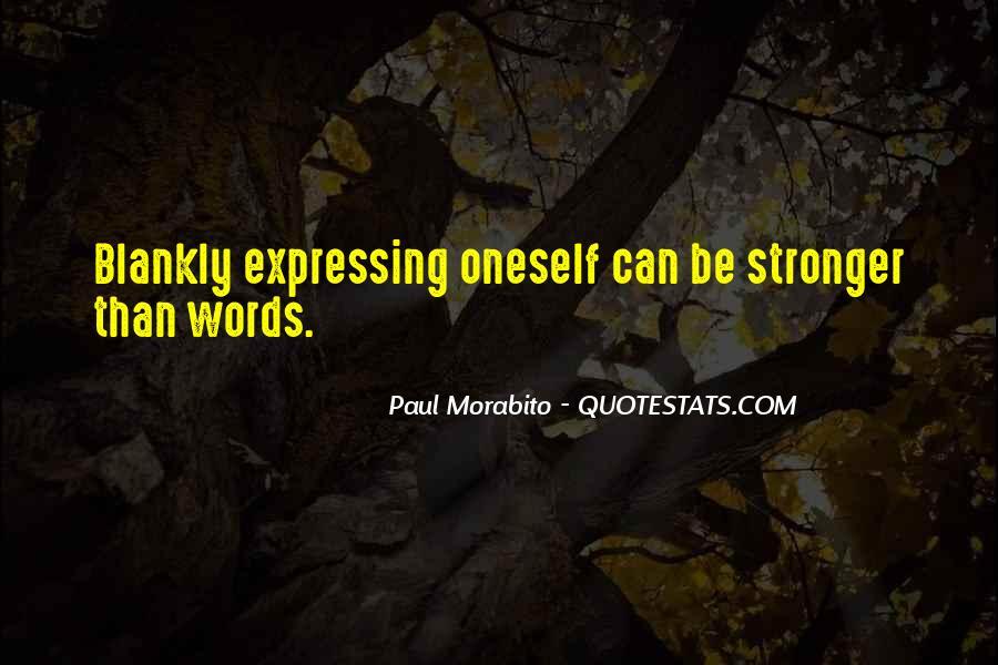 Paul Morabito Quotes #1119133