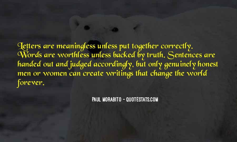 Paul Morabito Quotes #1720711