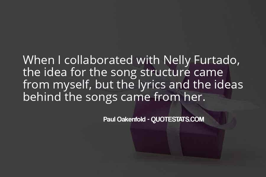 Paul Oakenfold Quotes #1827460