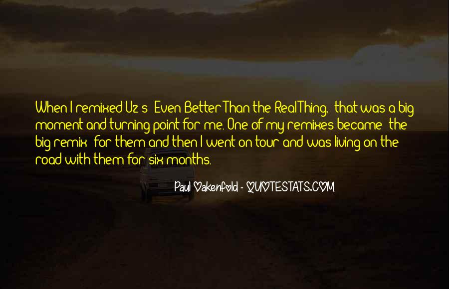 Paul Oakenfold Quotes #352731