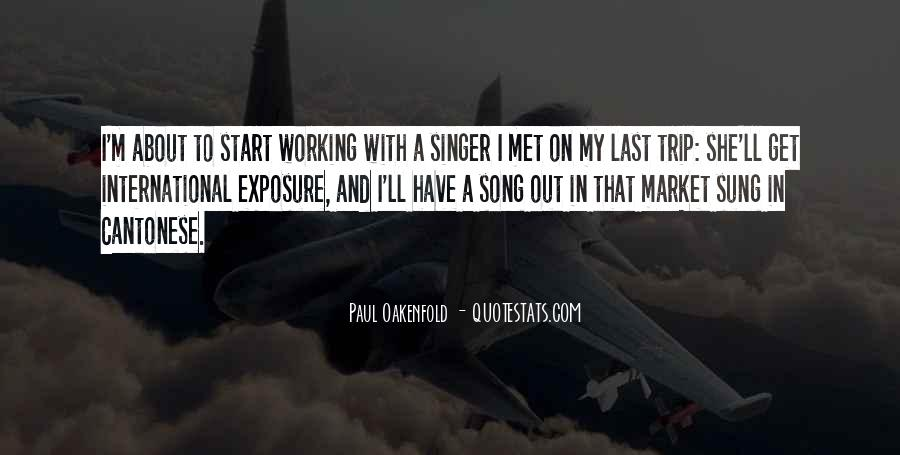 Paul Oakenfold Quotes #888020