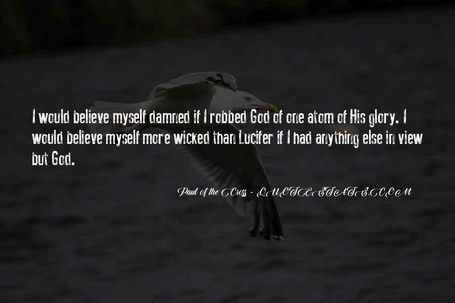 Paul Of The Cross Quotes #1016339