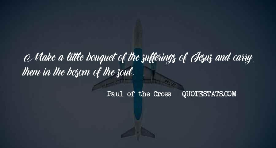 Paul Of The Cross Quotes #1051019