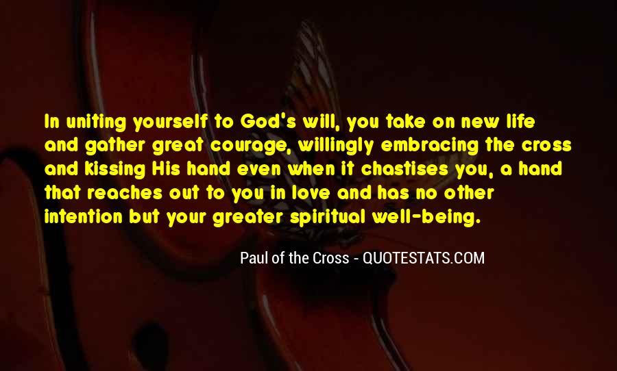Paul Of The Cross Quotes #135468