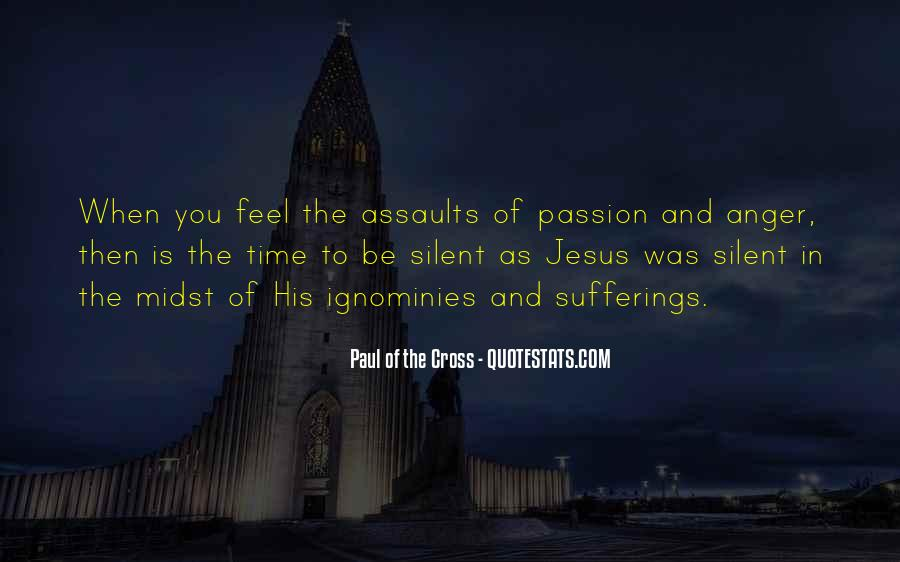 Paul Of The Cross Quotes #1362632