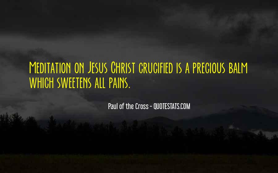 Paul Of The Cross Quotes #1433618
