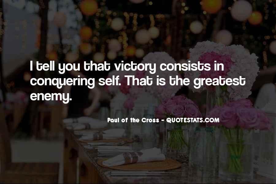 Paul Of The Cross Quotes #1515501