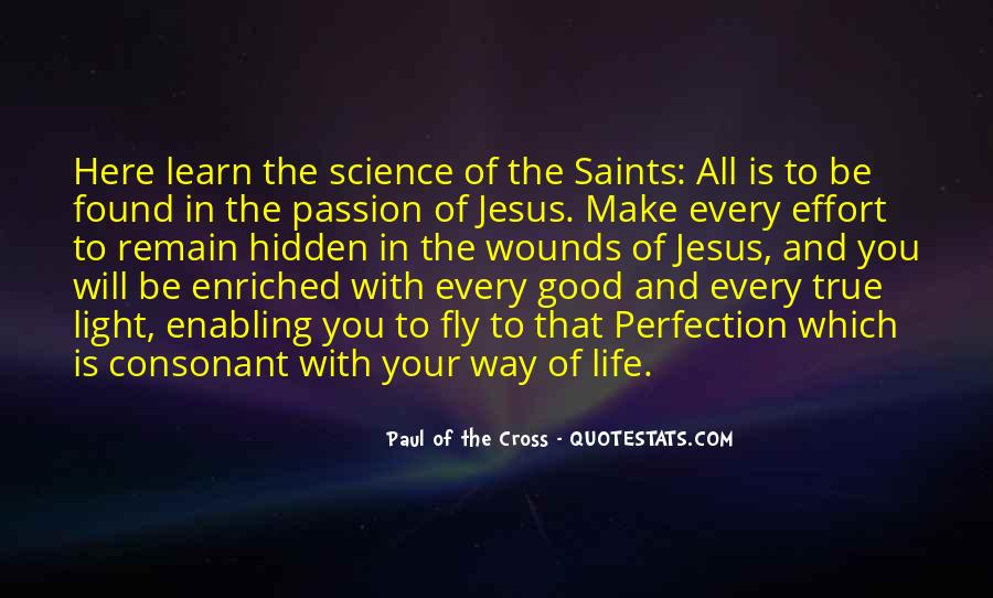 Paul Of The Cross Quotes #165302
