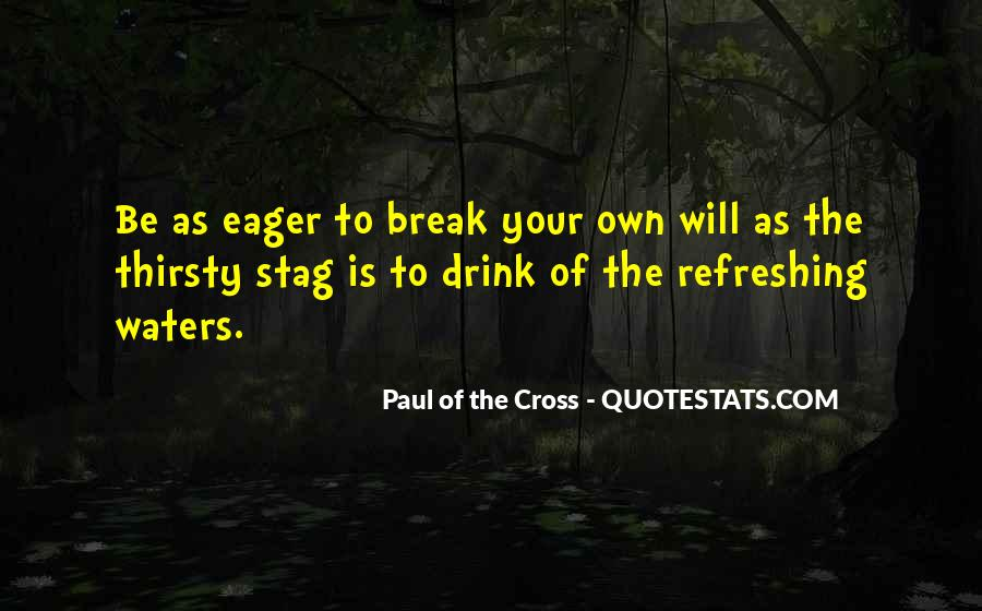 Paul Of The Cross Quotes #204120