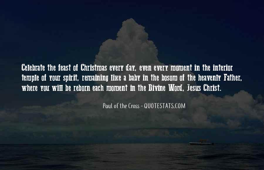 Paul Of The Cross Quotes #898123