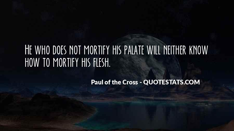 Paul Of The Cross Quotes #929457