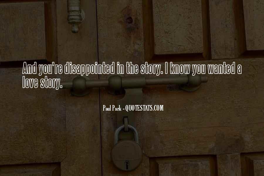 Paul Park Quotes #510387