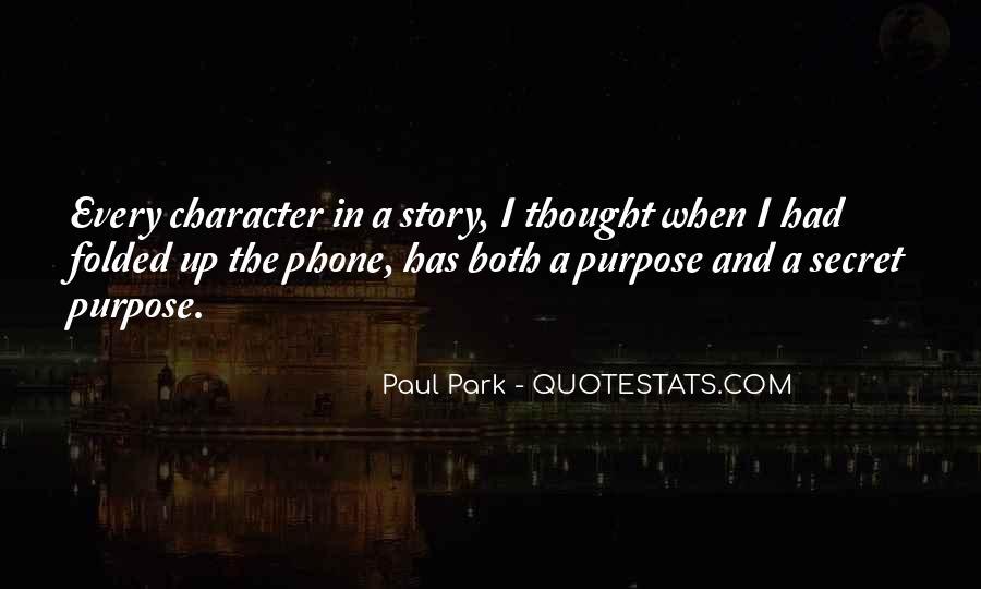Paul Park Quotes #57699
