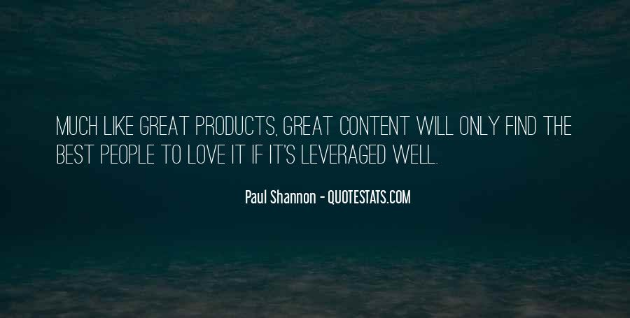Paul Shannon Quotes #110897