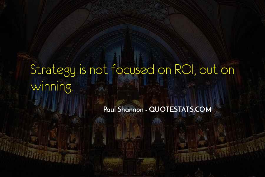 Paul Shannon Quotes #222980