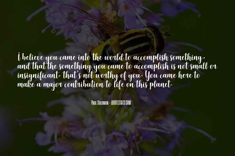 Paul Solomon Quotes #1444119