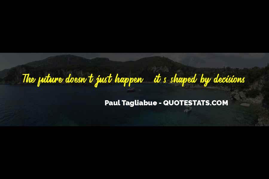 Paul Tagliabue Quotes #1106296