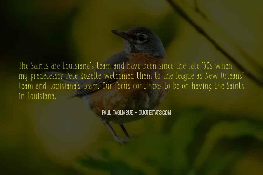 Paul Tagliabue Quotes #1841620