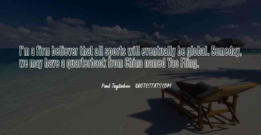 Paul Tagliabue Quotes #993349