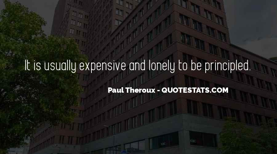 Paul Theroux Quotes #400426