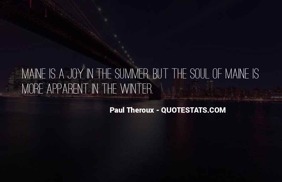 Paul Theroux Quotes #4494