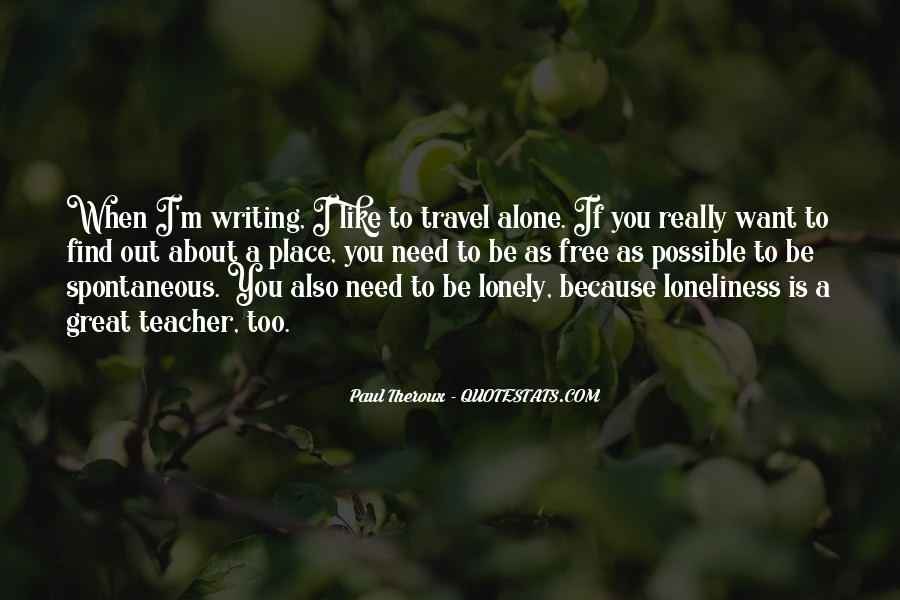 Paul Theroux Quotes #657794