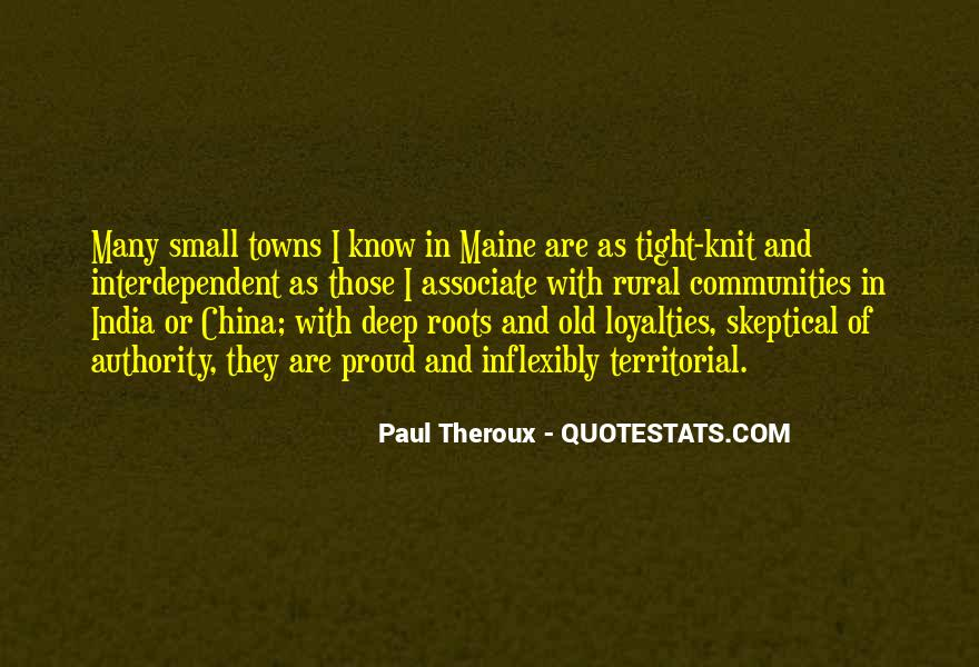 Paul Theroux Quotes #695677