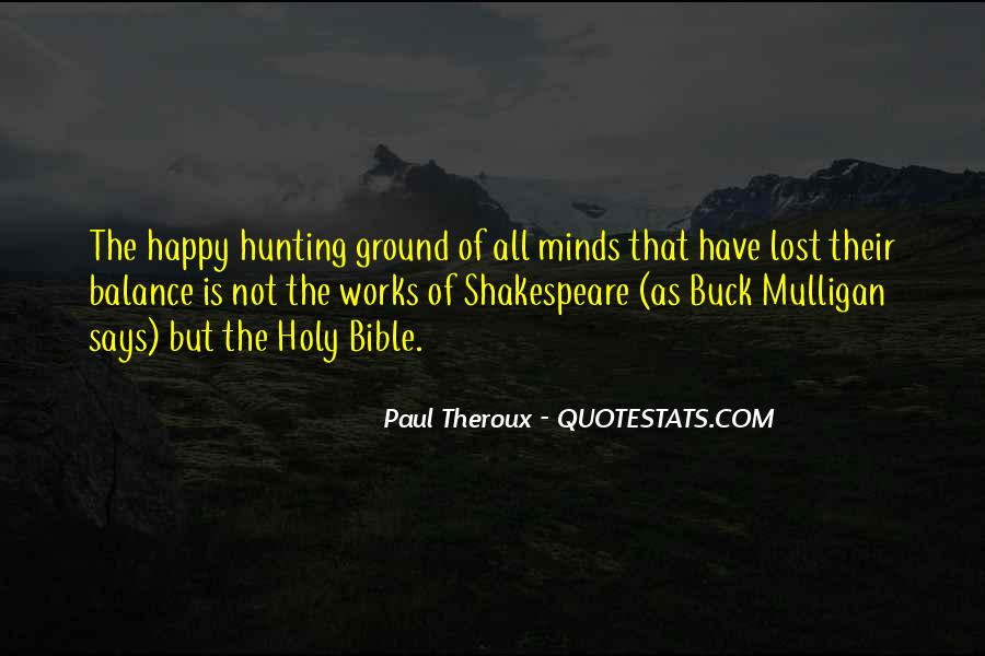 Paul Theroux Quotes #735031
