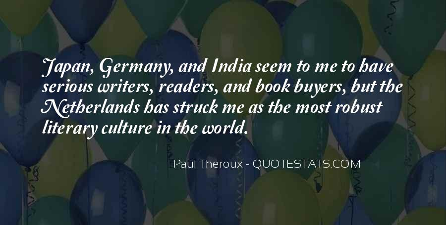 Paul Theroux Quotes #794754
