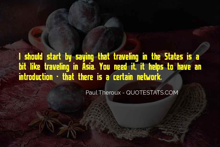 Paul Theroux Quotes #852013