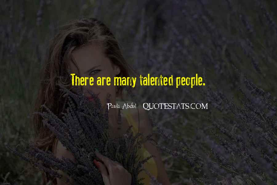 Paula Abdul Quotes #877625