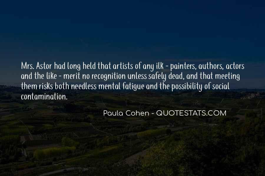 Paula Cohen Quotes #54908