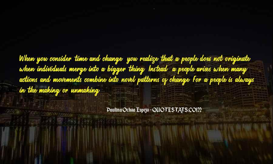 Paulina Ochoa Espejo Quotes #1329104