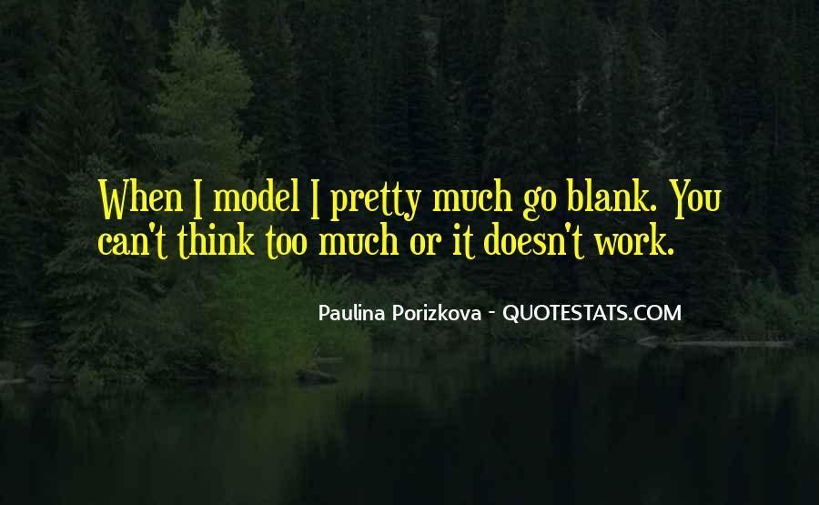 Paulina Porizkova Quotes #1790375