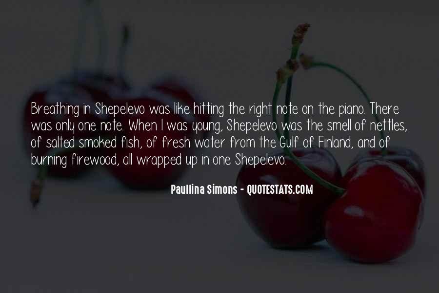 Paullina Simons Quotes #25949