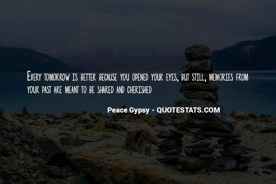 Peace Gypsy Quotes #749879